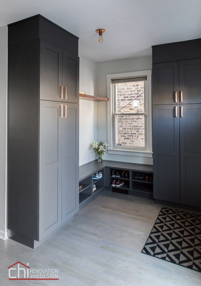 CHI | Luxury Mudroom Interior Design Chicago