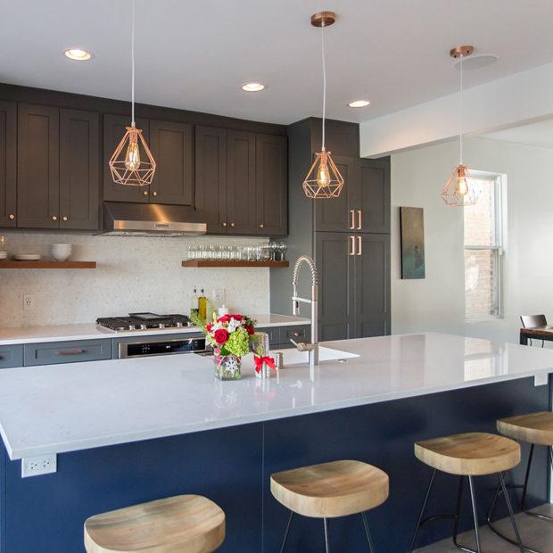 Luxury Open Concept Kitchen Remodel Chicago