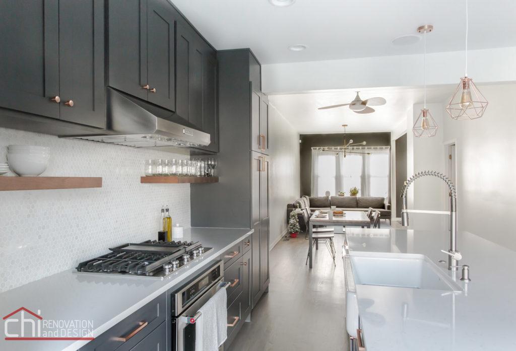 CHI   Luxury Open Concept Kitchen Renovation