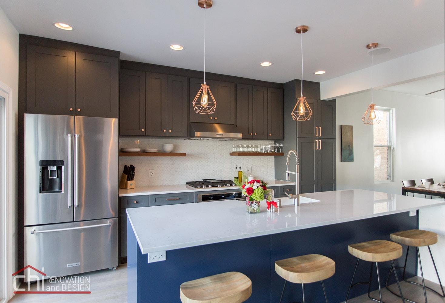 Luxury Open Concept Kitchen Renovation Interior Design