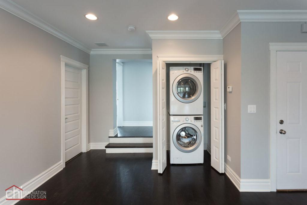 Luxury Rental Property Laundry Remodel Milwaukee