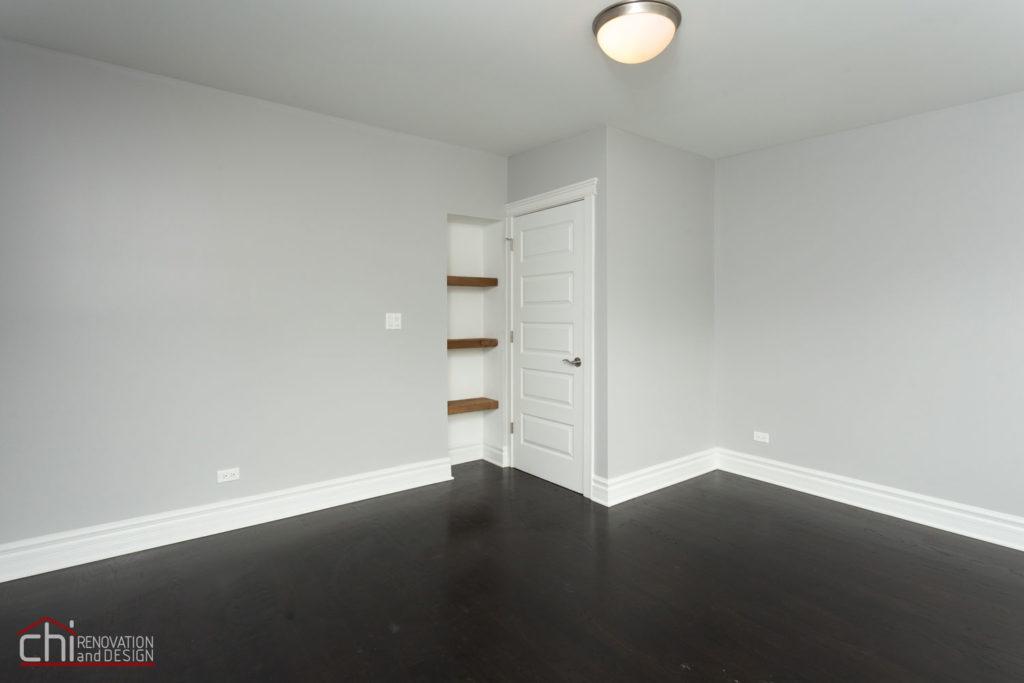 Luxury Rental Property Living Room Renovation