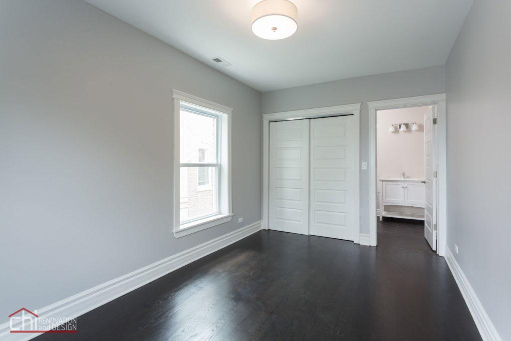Luxury Rental Property Living Rrom Construction