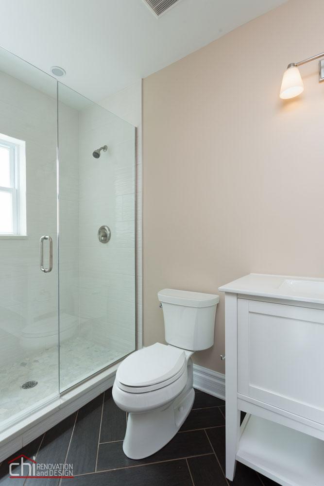 Luxury Rental Property Powder Room Remodel