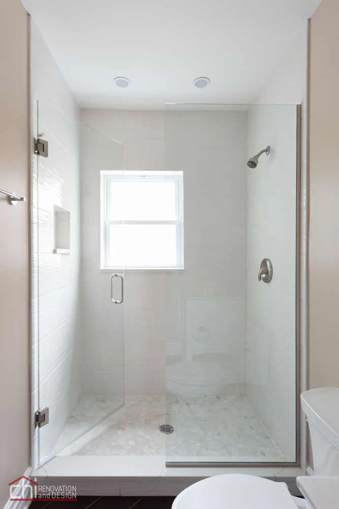 Luxury Rental Property Shower Remodel