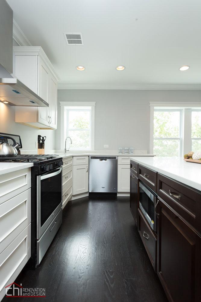 Milwaukee Luxury Rental Property Kitchen Remodel
