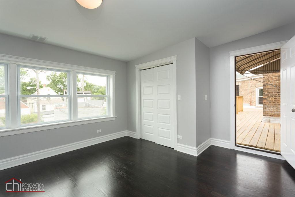Milwaukee Luxury Rental Property Living Room Remodel