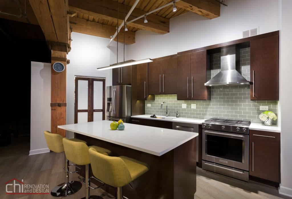 Modern Rustic Chicago Kitchen Remodel