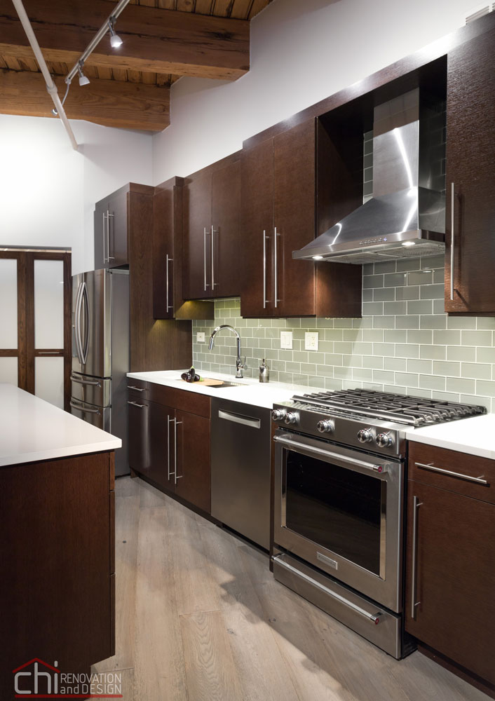 Modern Rustic Chicago Kitchen Remodelers