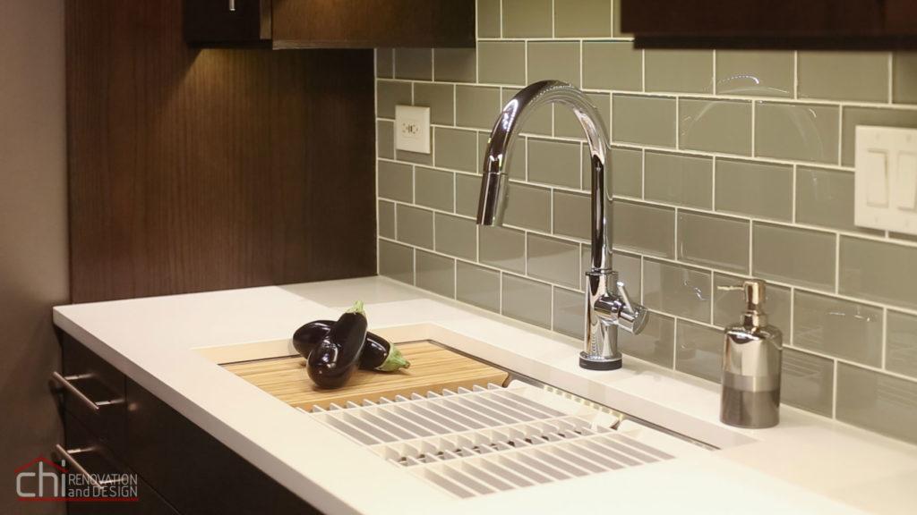 Modern Rustic Kitchen Sink Remodel