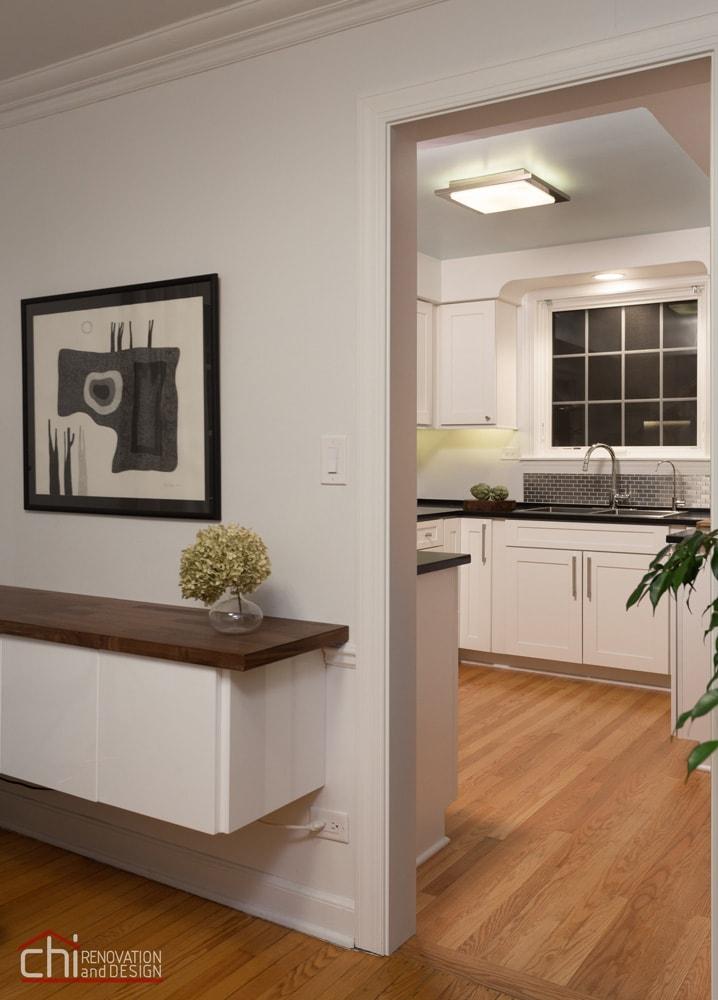 Niles Skokie Kitchen Entryway Remodel