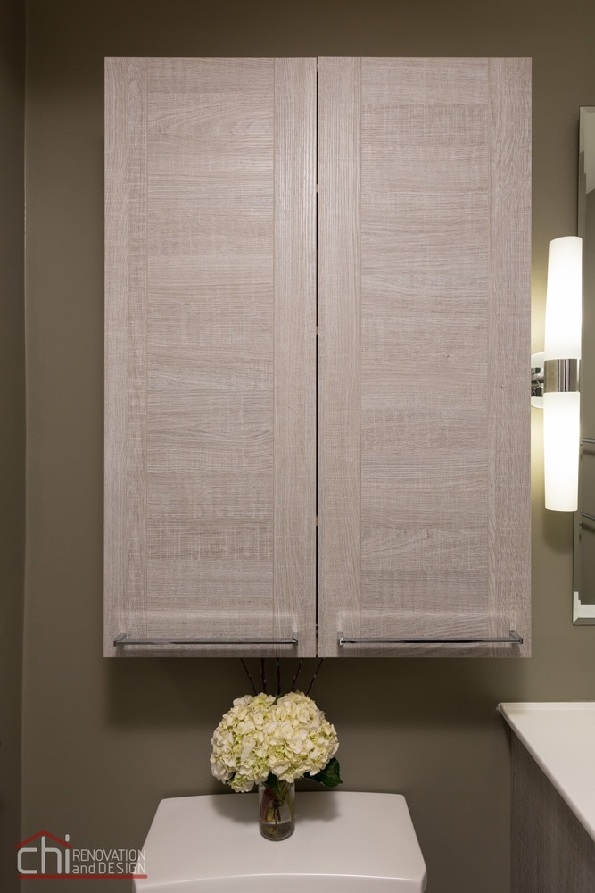 Noble Square Bathroom Cabinet Remodel
