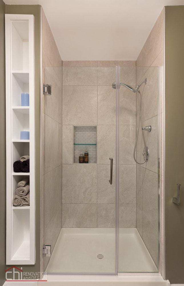 Noble Square Bathroom Shower Renovation