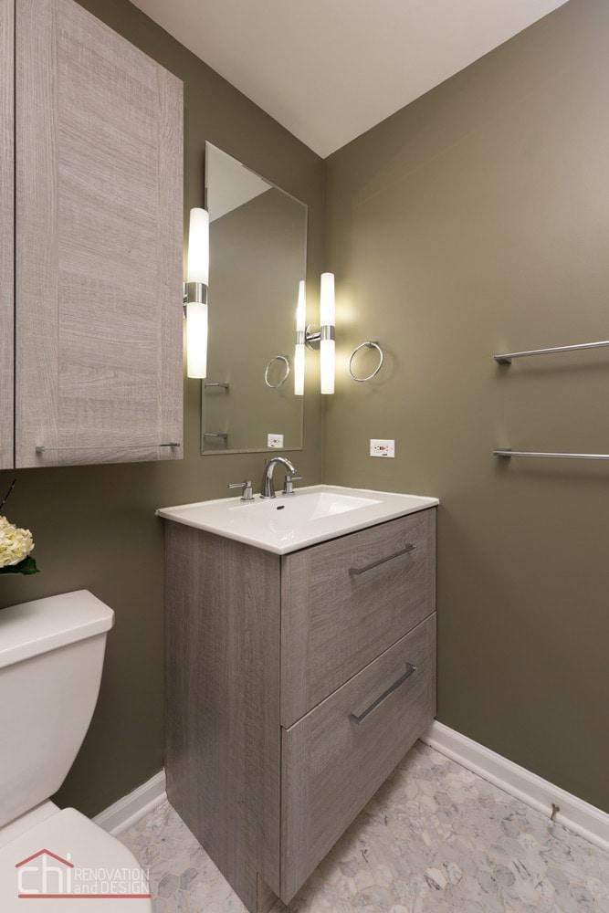 Noble Square Bathroom Sink Remodel