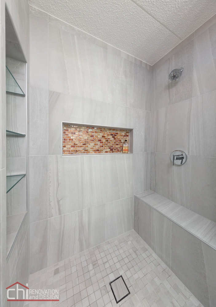 Northshore Bathroom Shower Remodel