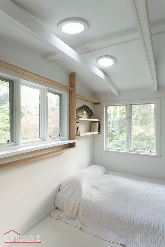 Northshore Cottage Basement Bedroom Remodel