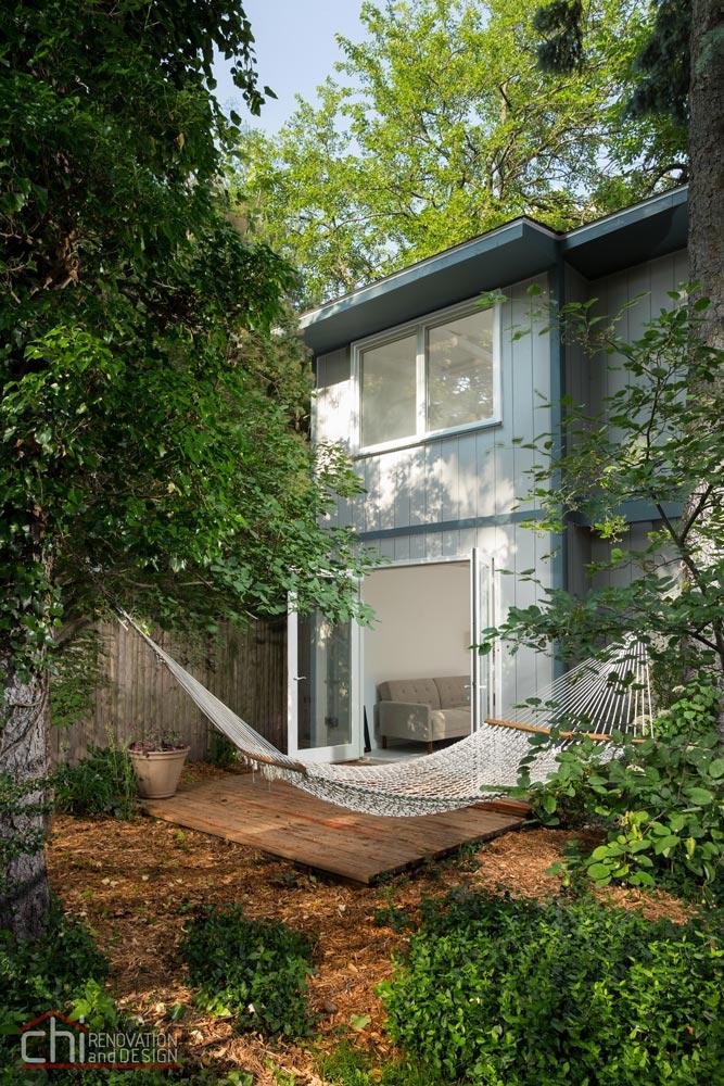 Northshore Cottage Basement Exterior Remodel