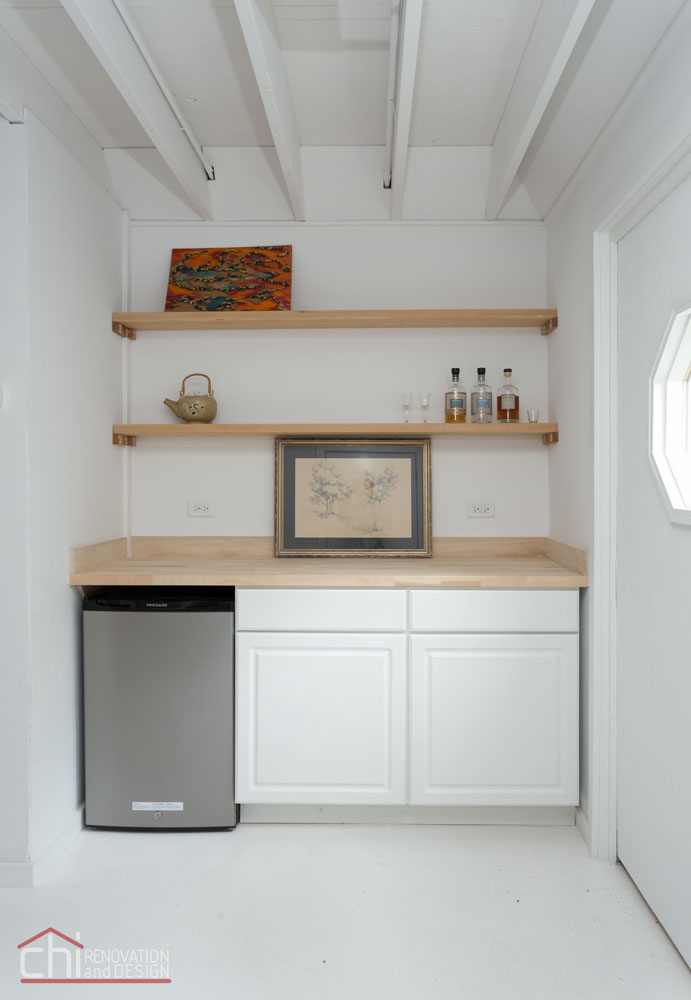 Northshore Cottage Basement Remodel
