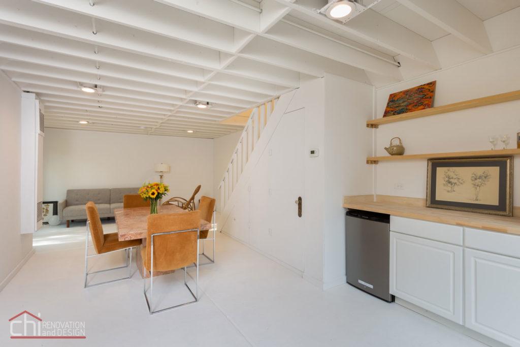 Northshore Cottage Dining Area Remodelers