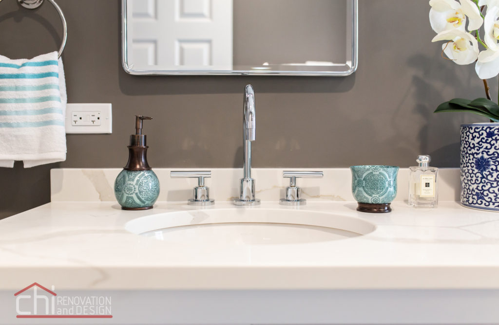 Park Ridge Retreat Sink Detail