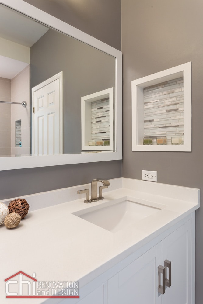 Roscoe Village Bathroom Sink Remodel