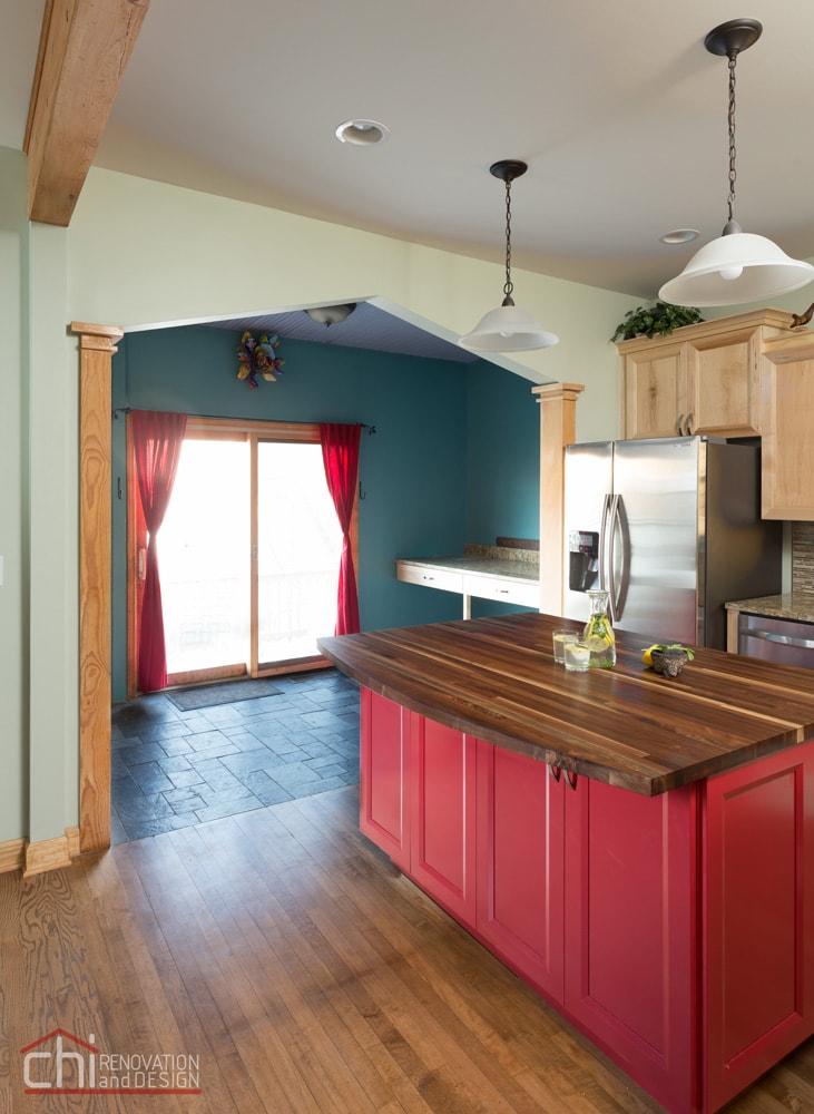 Roscoe Village Chicago Kitchen Renovation
