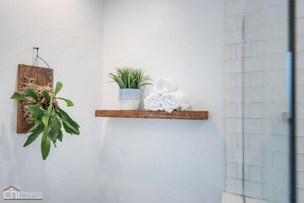 Shabby Chic Studio Loft Bathroom Renovation