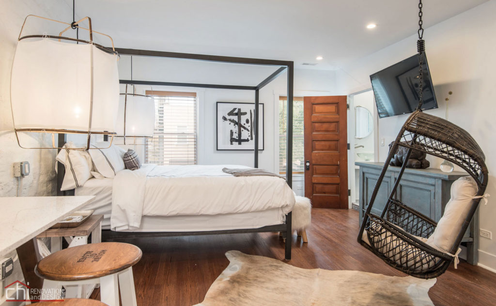 Shabby Chic Studio Loft Bedroom Design