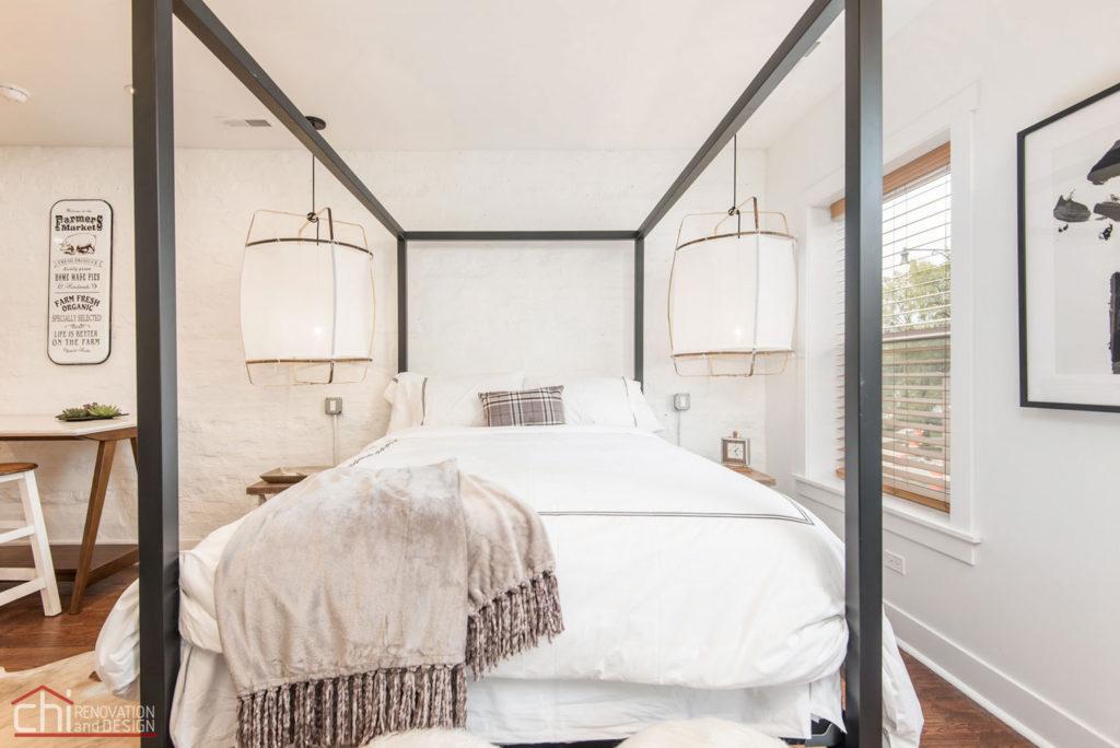 Shabby Chic Studio Loft Bedroom Remodeling Company