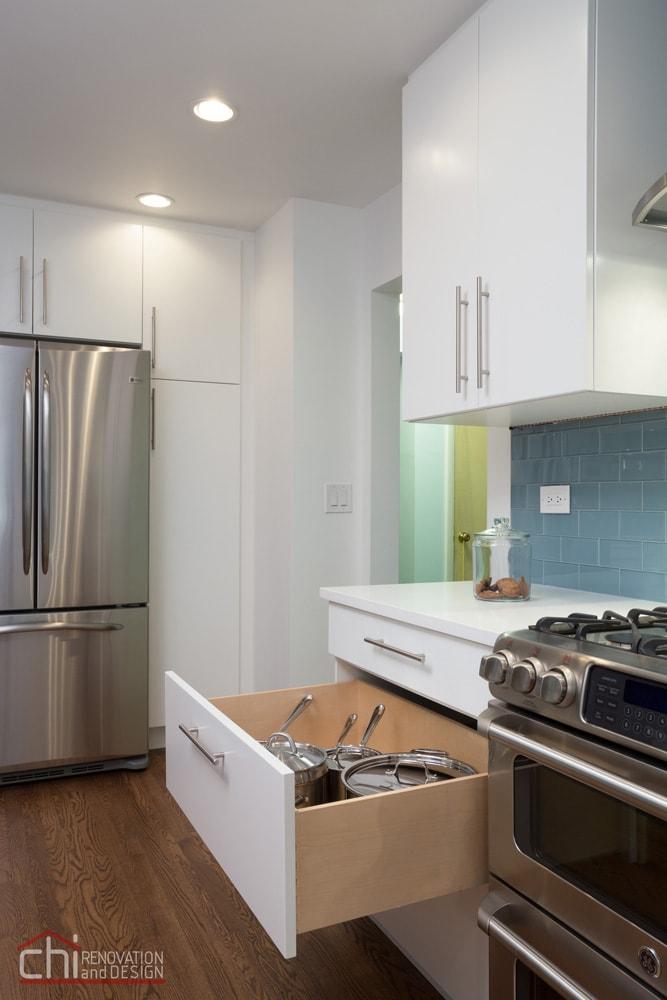 Skokie Kitchen Custom Cabinet Remodel