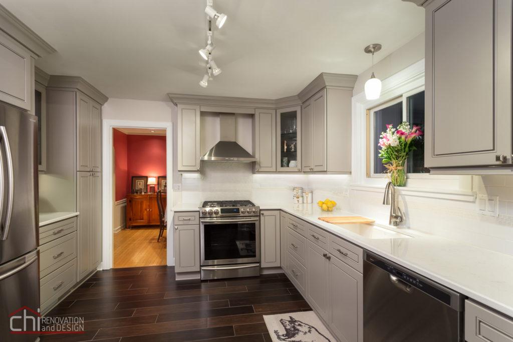 Skokie Kitchen Interior Remodel