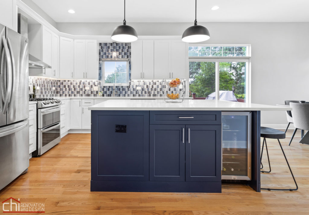 Sleek Modern Chicago Kitchen Contractor
