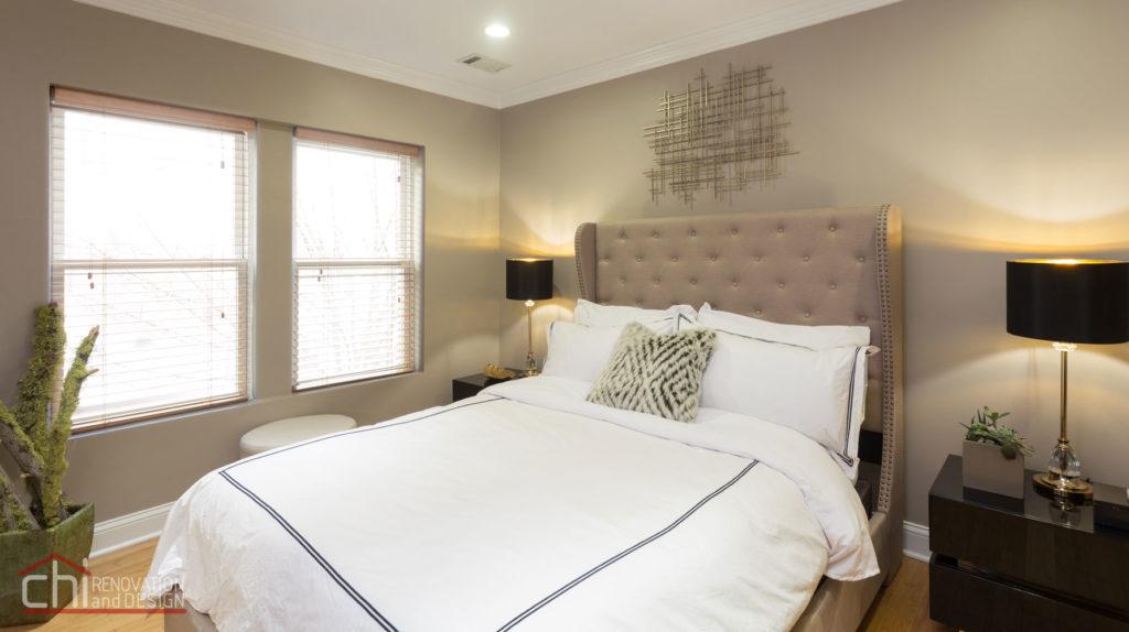 Upscale Chicago Studio Bedroom Renovation