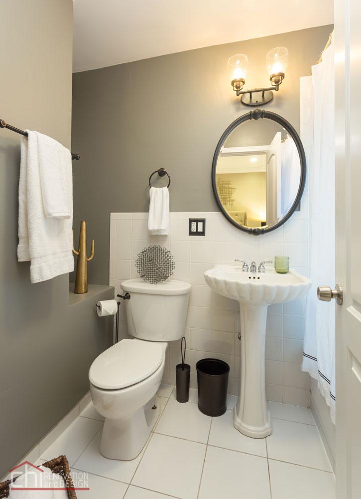 Upscale Studio Bathroom Renovation Design