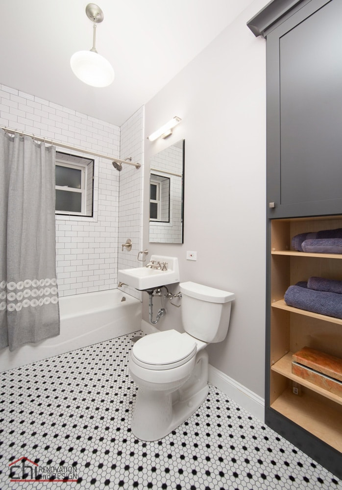 Vintage Bathroom Chicago Remodelers