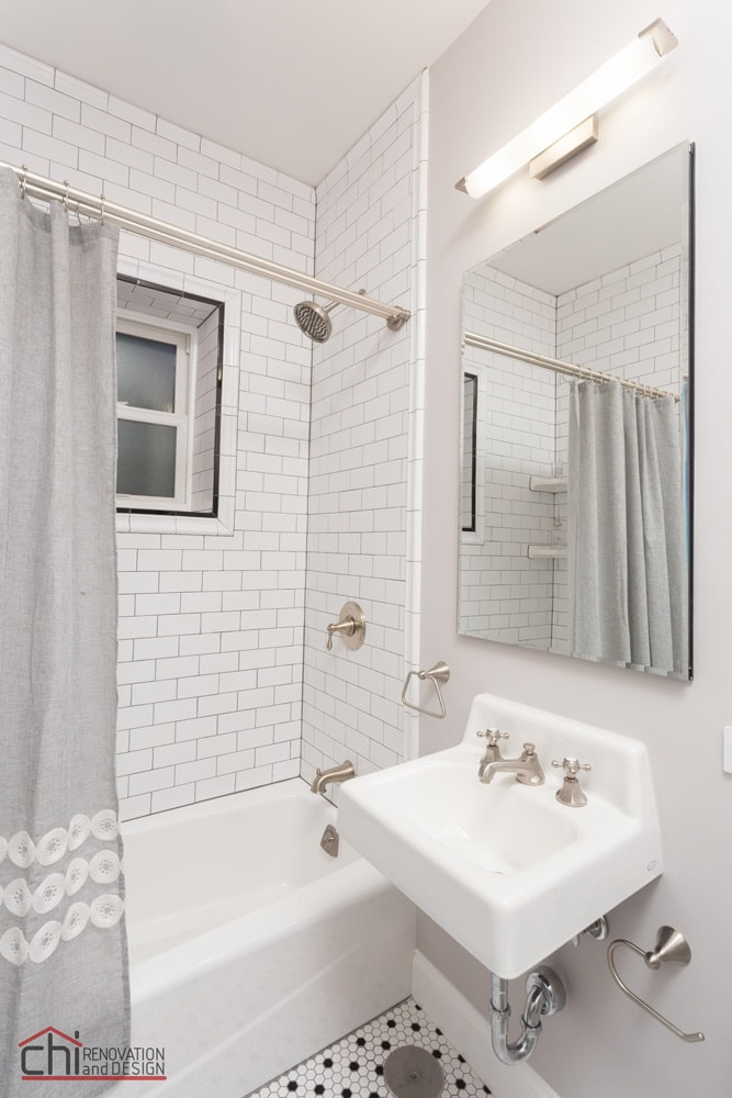 Vintage Bathroom Shower Remodel