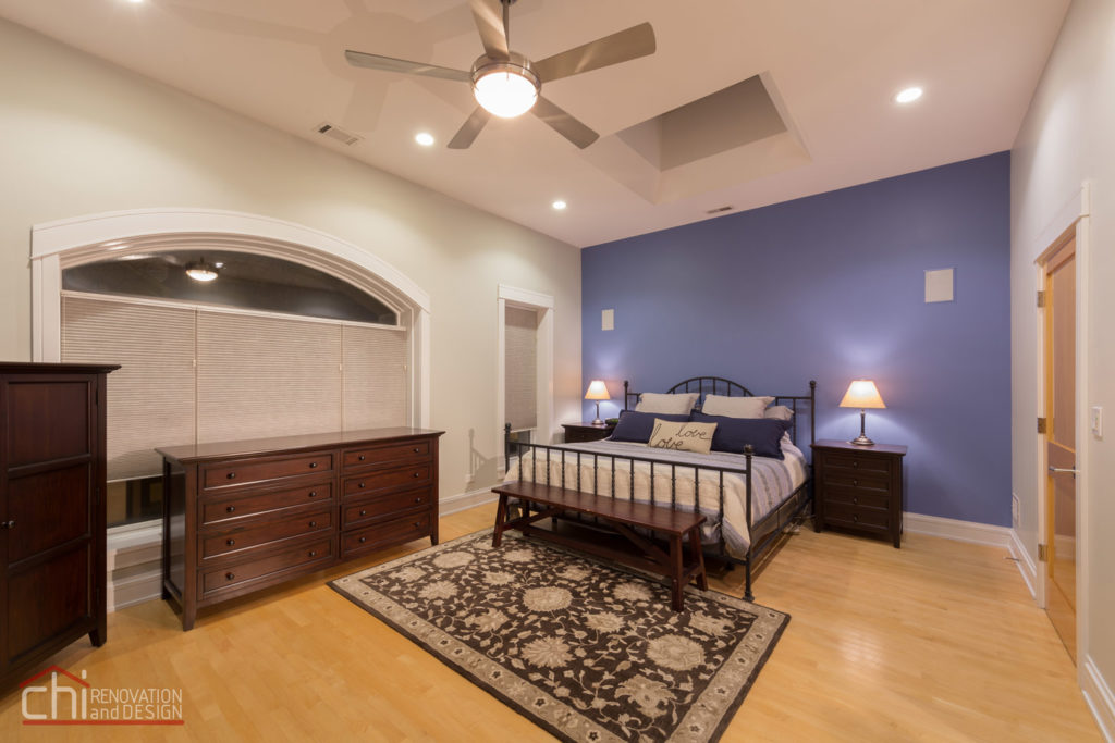 West Town Master Bedroom Interior Remodel