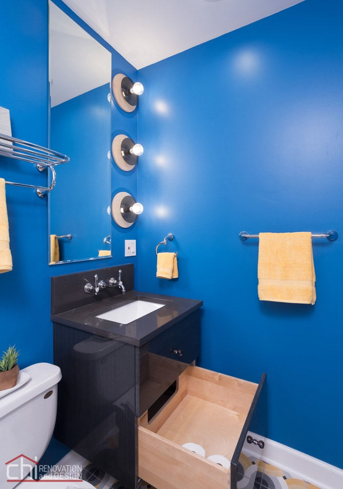 Wicker Park Chicago Guest Bathroom Remodelers