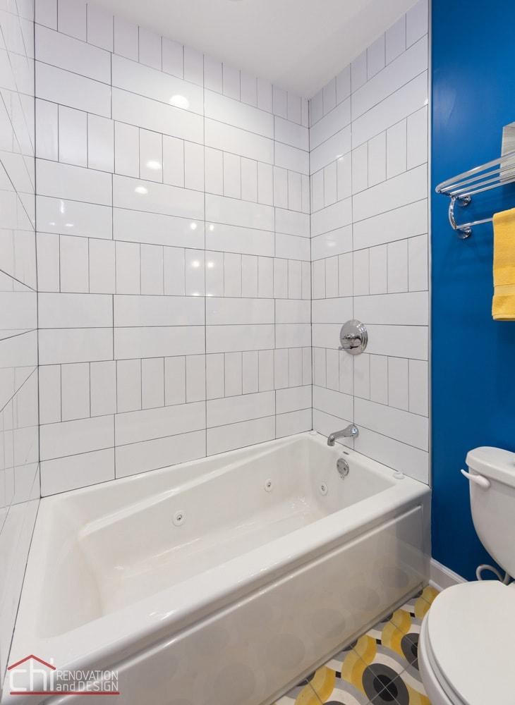 Wicker Park Guest Bathtub Remodel