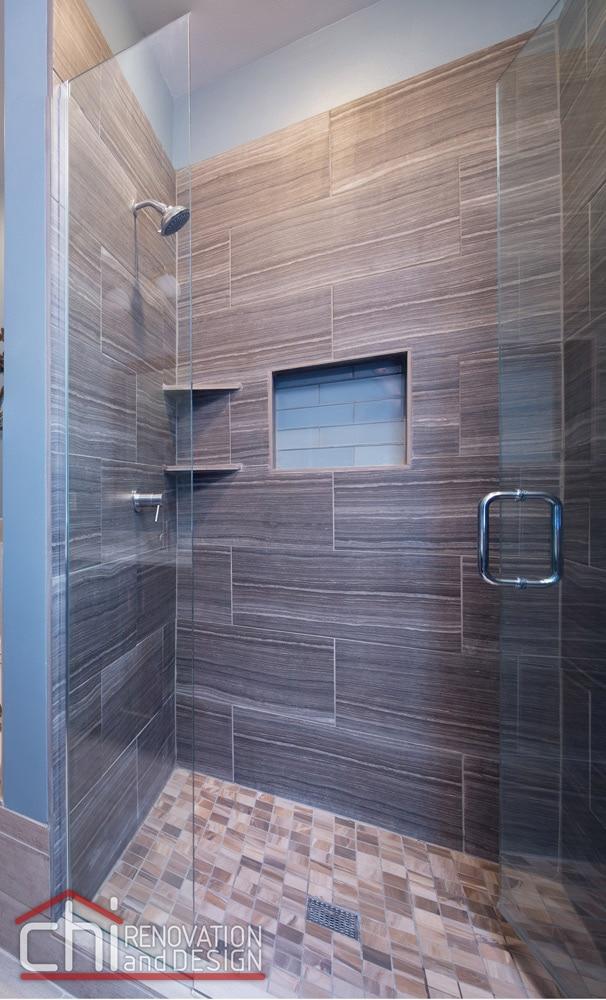 Wrigleyville Bathroom Shower Remodelers