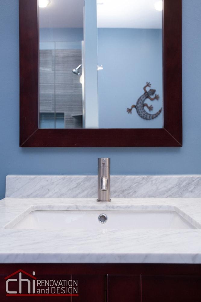 Wrigleyville Bathroom Sink Remodel