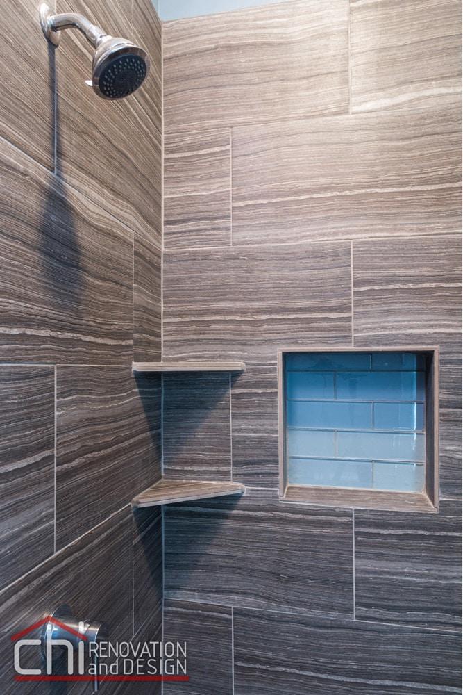 Wrigleyville Bathroom Tile Remodel