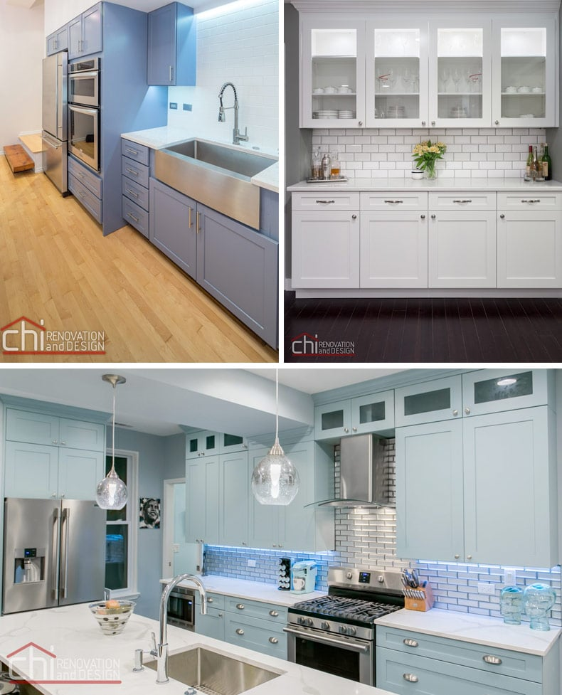 Chi Ren Chicago Kitchen Color Renovation
