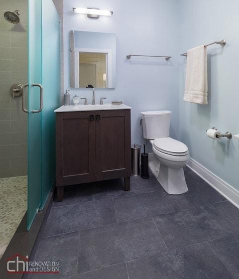 Chicago Bathroom Flooring Remodelers