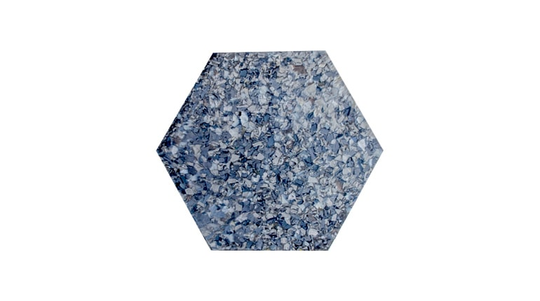 Chicago Metallic Hexagon Eco Tile