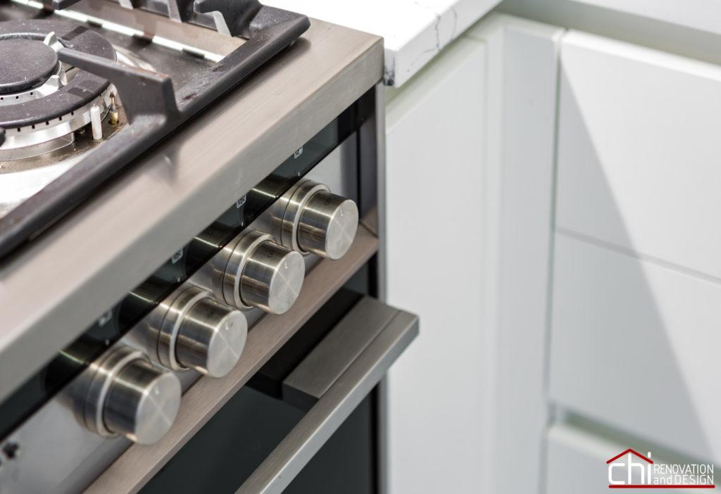 Compact Elegant Chicago Kitchen Renovation