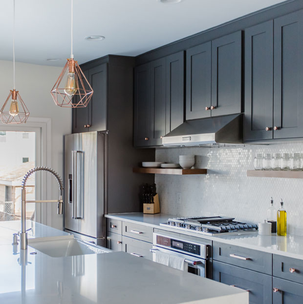 Luxury Open Concept Kitchen Interior Remodel