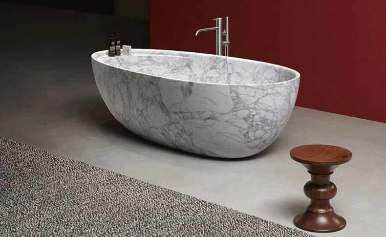 Marble Bathtub Remodel