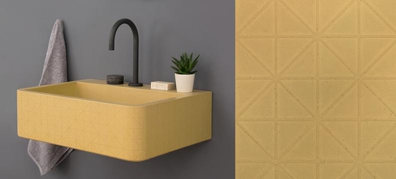 Mustard Hued Embellished Sink