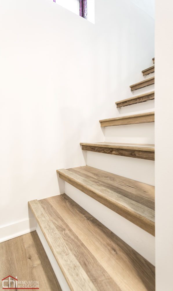 CHI | Evanston Basement Staircase Builders